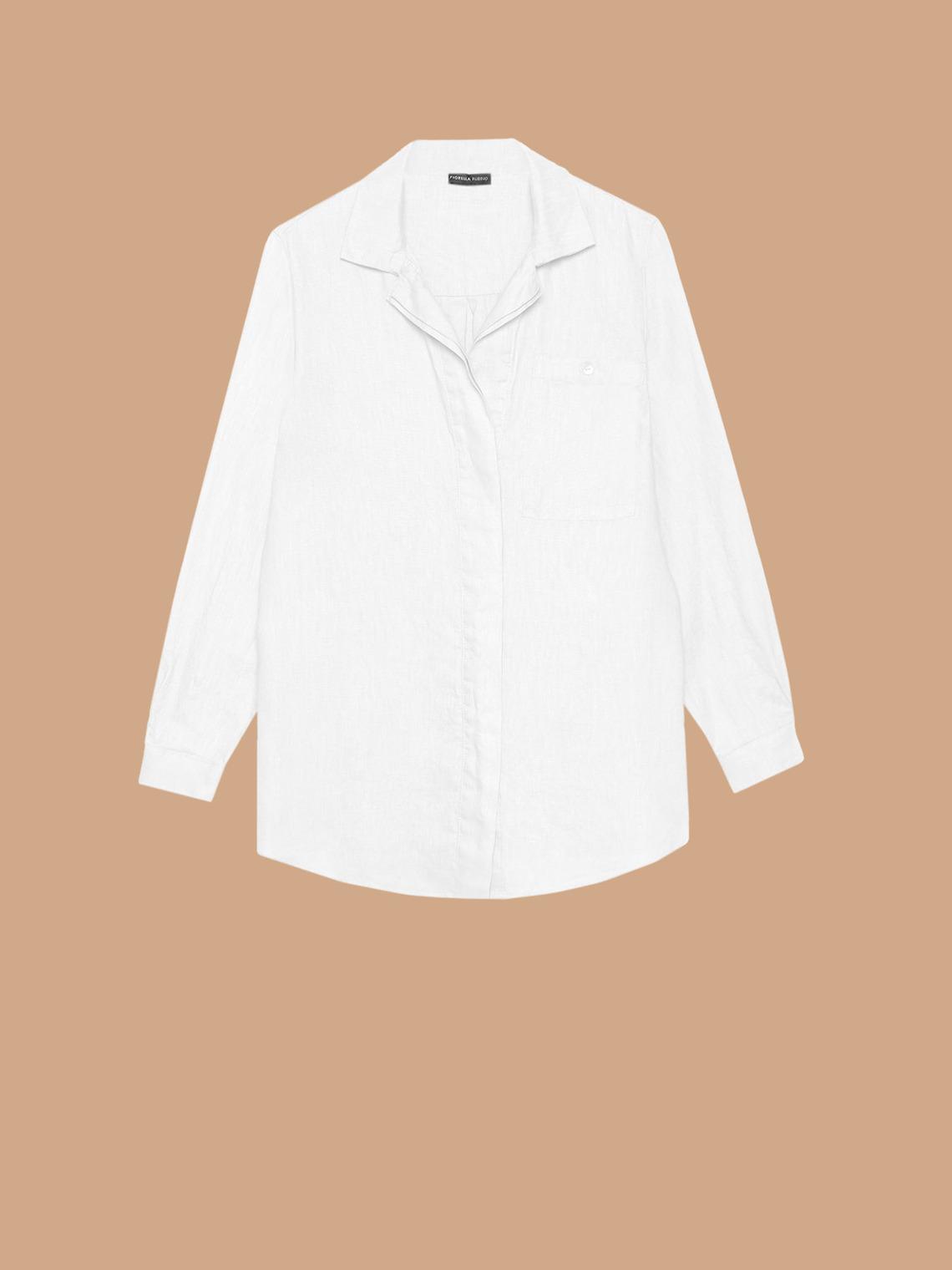 hot sale online fe024 2c773 Camicia ampia in lino - FiorellaRubino.com
