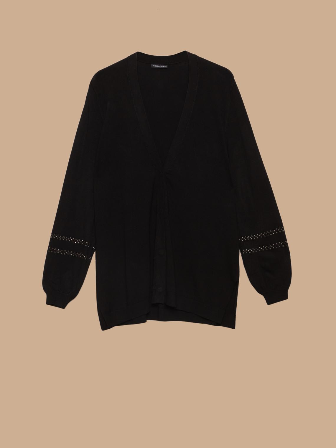 huge discount 0fc7d fdba7 Cardigan lungo con borchie - FiorellaRubino.com