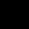 Long cardigan with stars, Black
