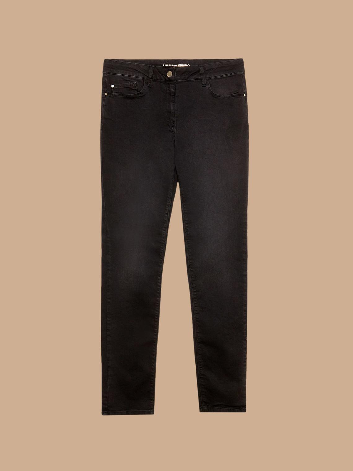 selezione migliore 2143f cf652 Pantaloni skinny basic in denim color - Fiorella Rubino - FR