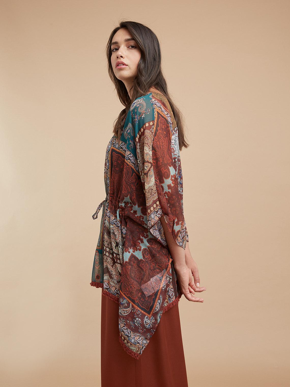 Fiorellarubino: Kimono stampato_1