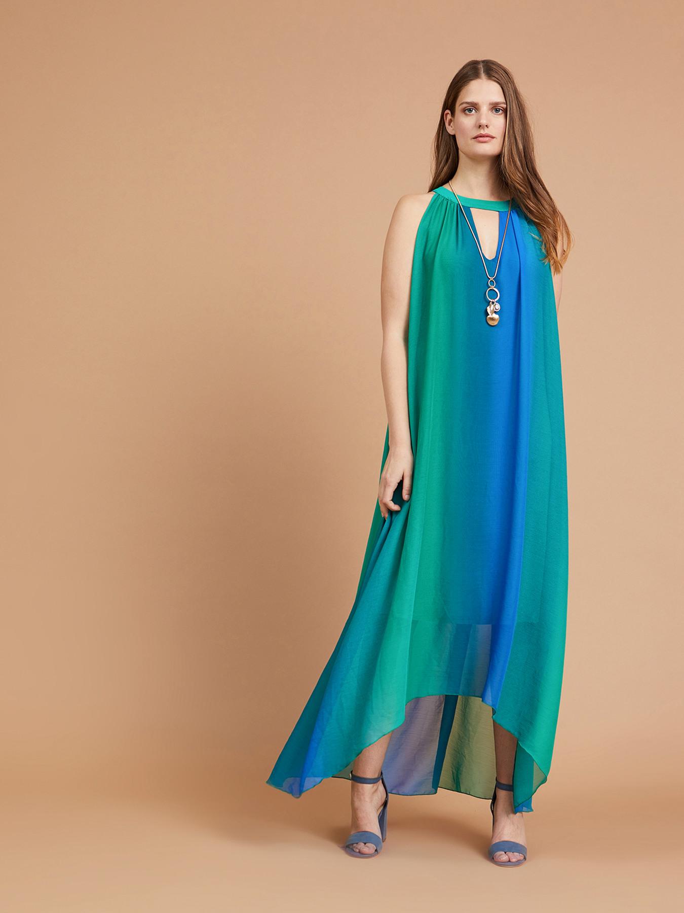 Vestiti Eleganti Fiorella Rubino.Long Ombre Dress Fiorella Rubino Gb